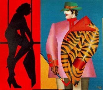 La Ventana Trasera -Richard Lindner