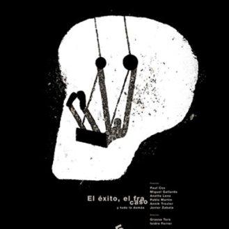 Isidro Ferrer. El éxito del fracaso. Cartel 5ª edición del Curso internacional de ilustración y diseño gráfico de Albarracín.
